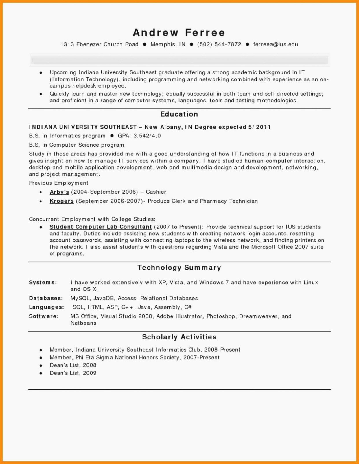 Resume with Honors Luxury 10 How to List Honor society Resume