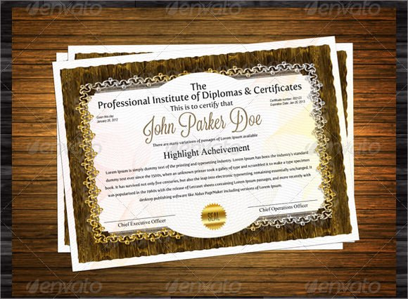 Retirement Certificate Templates for Word Elegant Free 7 Sample Retirement Certificate Templates In Pdf