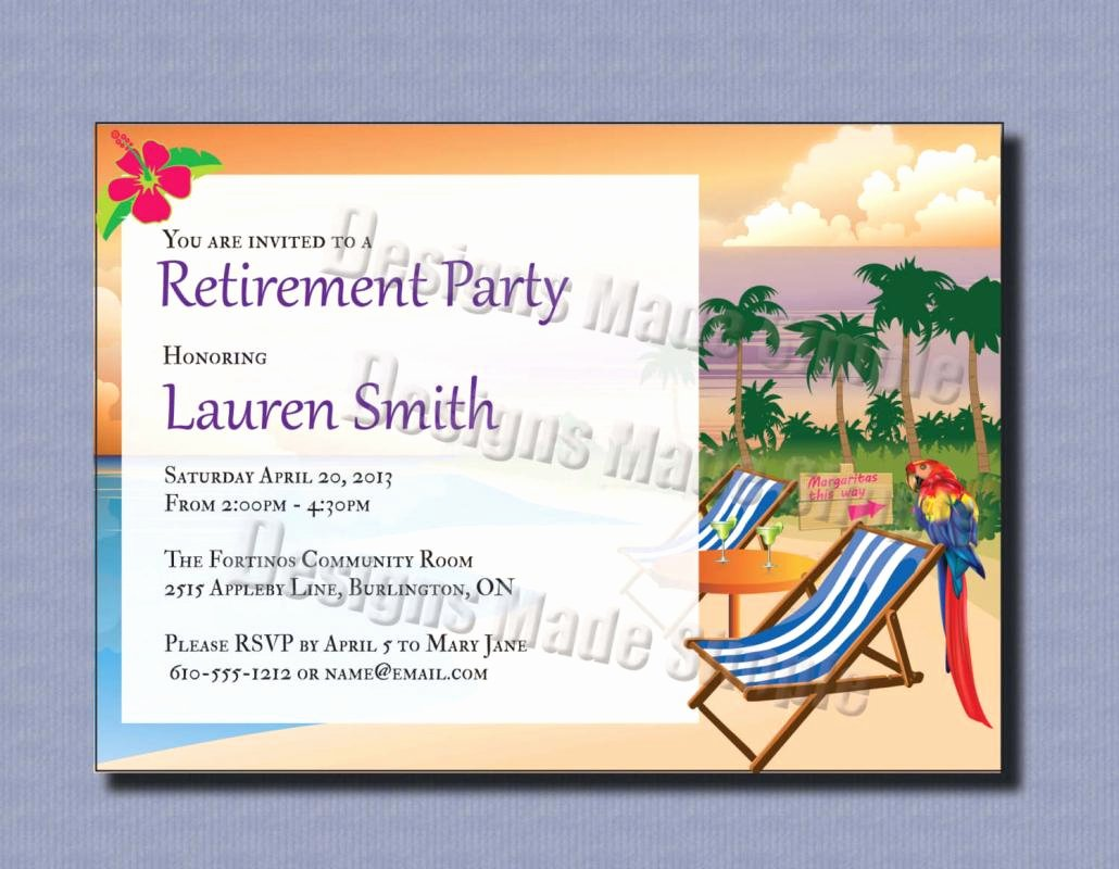 Retirement Invitation Template Word Elegant 004 Template Ideas Free Retirement Party Flyer Templates