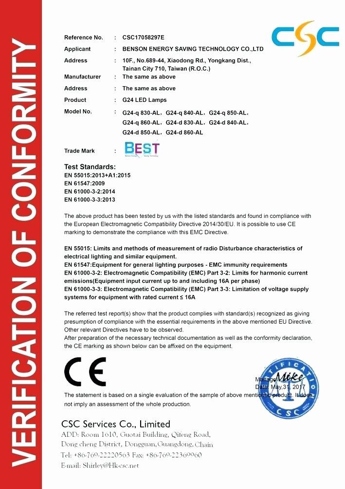 Rohs Compliance Certificate Template New Rohs Pliance Certificate