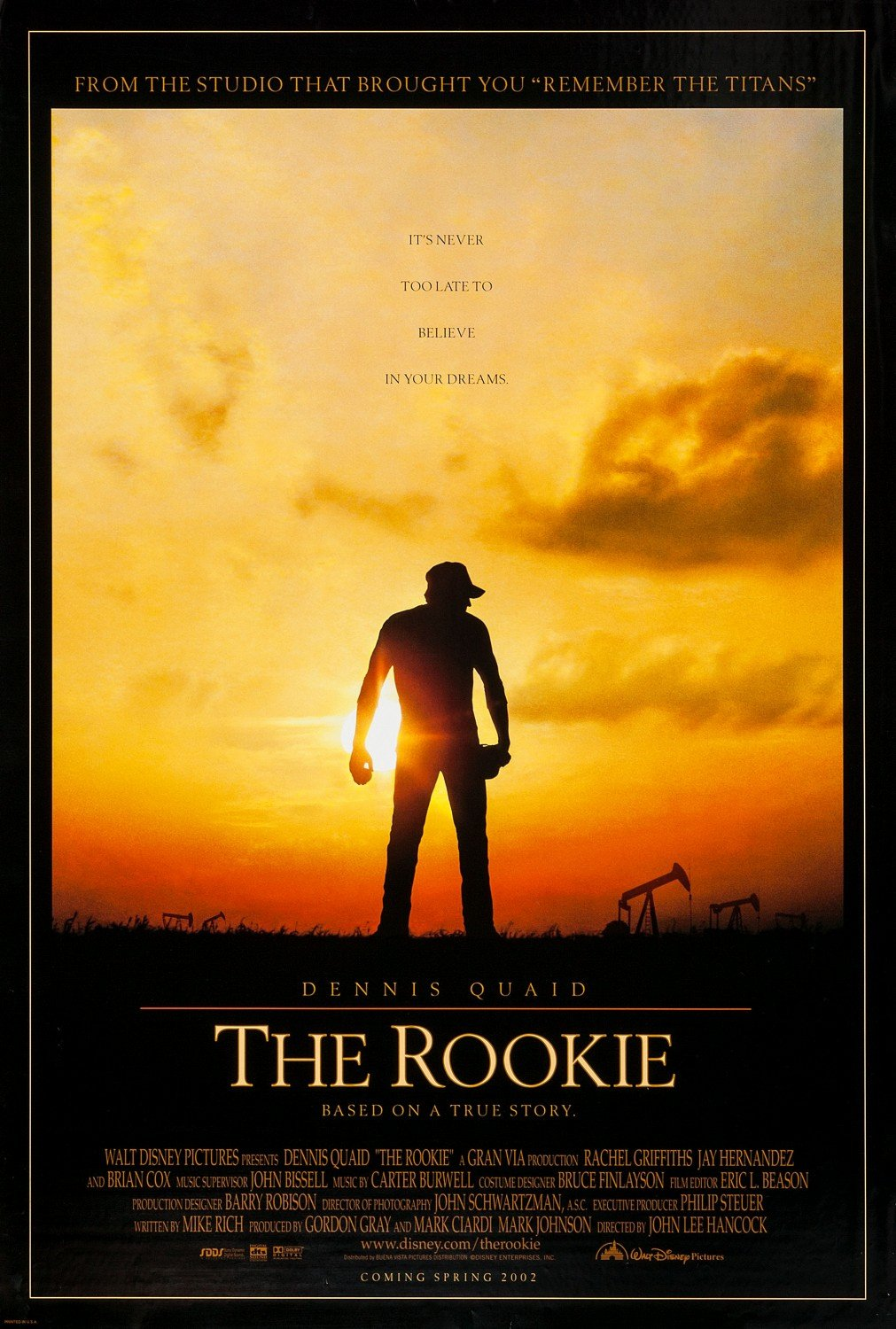 Rookie Of the Year Poster Beautiful the Rookie 1 Of 3 Extra Movie Poster Image Imp