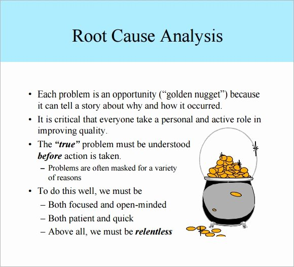 Root Cause Analysis Report form Best Of Free 16 Sample Useful Root Cause Analysis Templates In