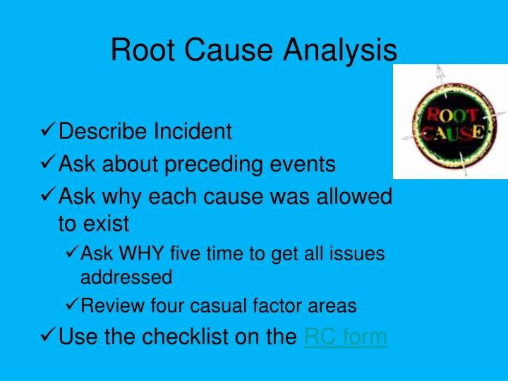 Root Cause Analysis Report form Elegant Ppt Incident Investigation Powerpoint Presentation Id