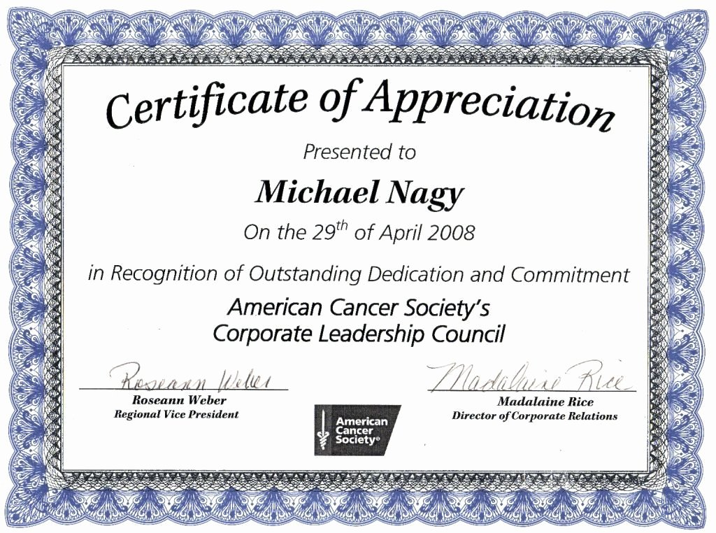 Rotary Certificate Of Appreciation Template Elegant Certificate Excellence Template Editable