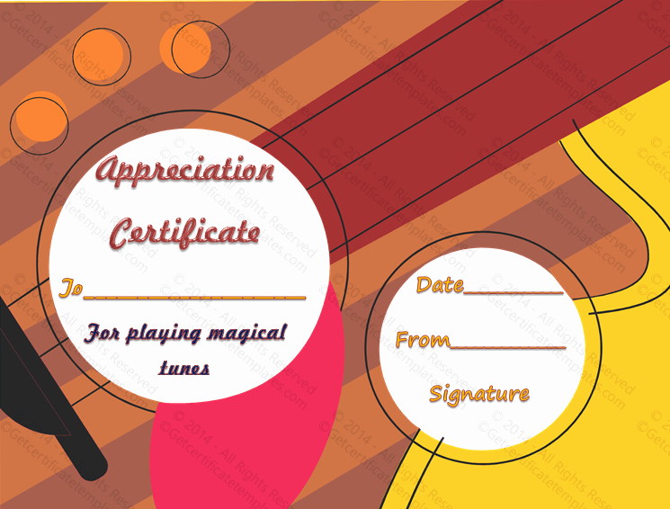 Rotary Certificate Of Appreciation Template New Letter Appreciation format for the Employee