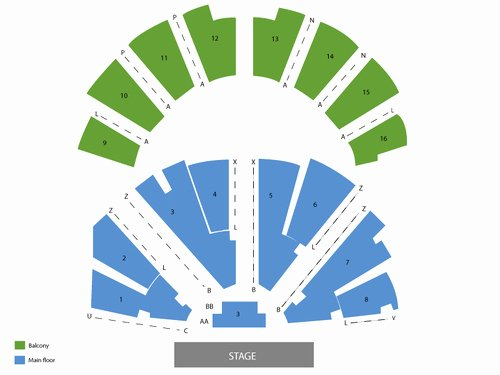 Ryman Auditorium Layout New Ryman Auditorium Seating Chart and Tickets