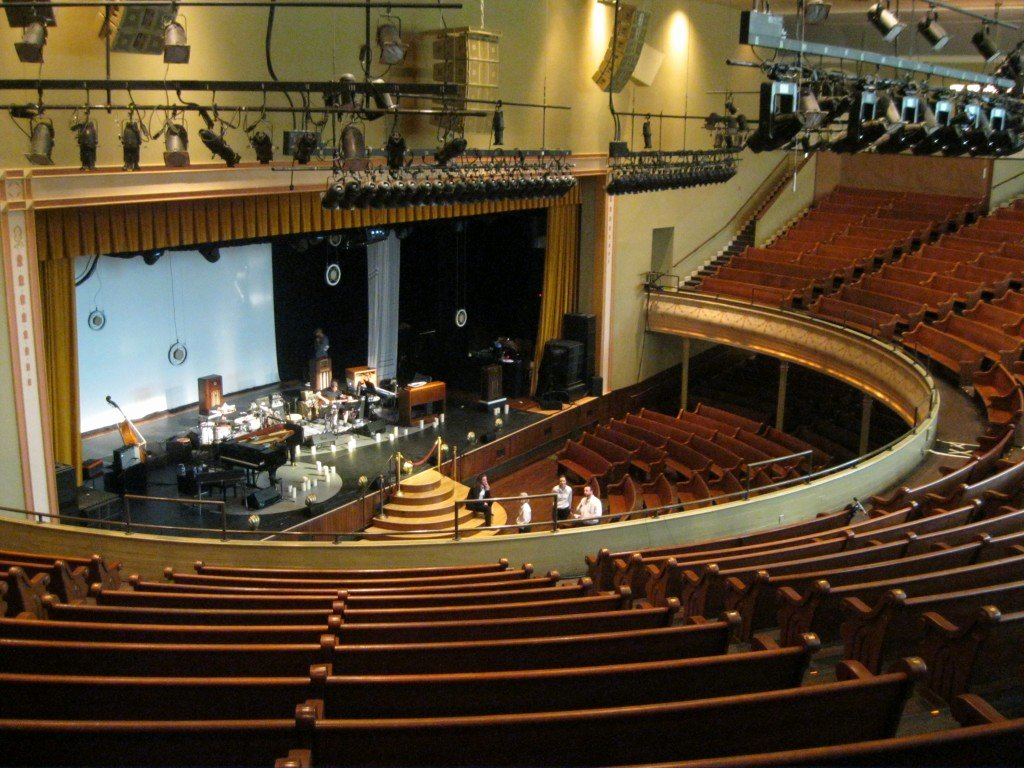 Ryman Auditorium Layout Unique A Grande Ole Time with the Wilsons In Music City