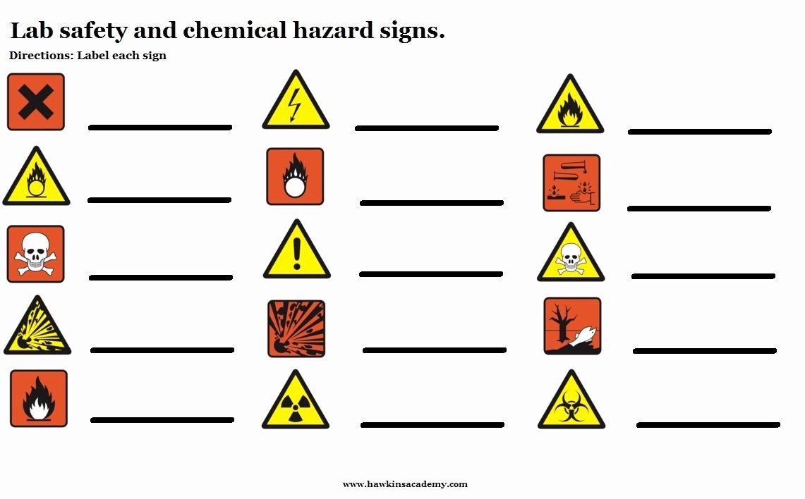 Safety Symbols Worksheet Unique Pin by Hawkins Academy On Ck 12 Self Made Resources