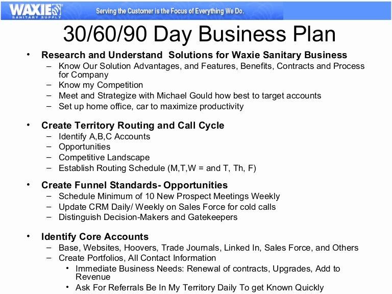 Sales 30 60 90 Plan Sample Elegant 30 60 90 Business Plan