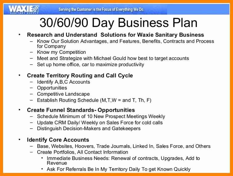 Sales 30 60 90 Plan Sample Lovely 90 Days Sales Plan