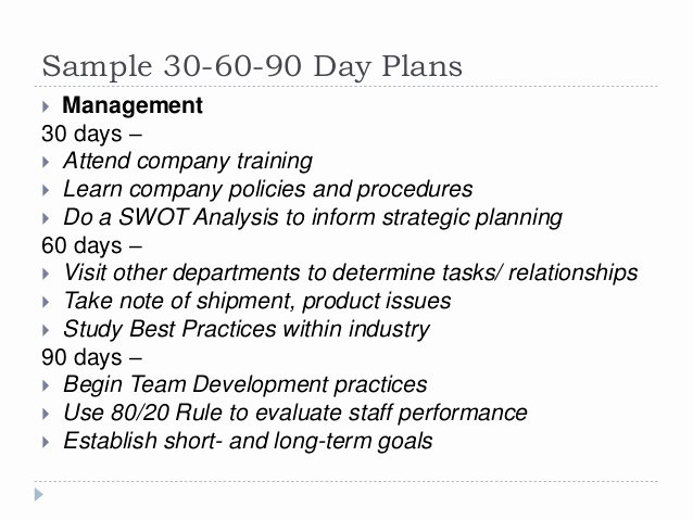Sales 30 60 90 Plan Sample Luxury 30 60 90 Day Plan for Lifelong Learning