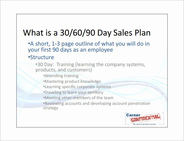 Sales 30 60 90 Plan Sample New Sales Action Plan Template 14 Free Pdf Word format