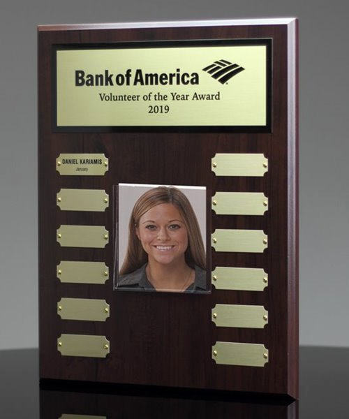 Salesman Of the Month Award Awesome Employee Of the Month Plaque