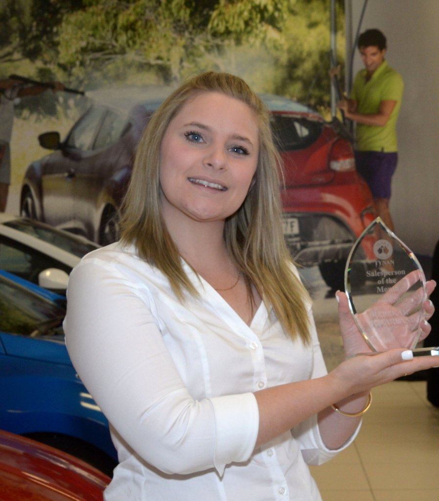Salesman Of the Month Award Awesome Salesperson Of the Month Award March 2016 Tynan Motors