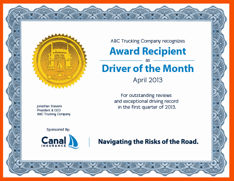 Salesman Of the Month Award Fresh 7 Recognition Certificate Template Bookletemplate