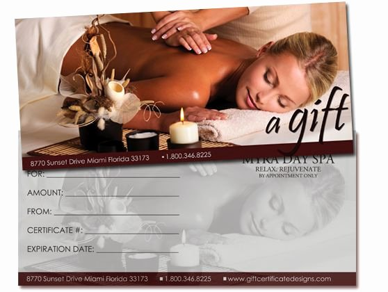 Salon Gift Certificate Template Free Printable Elegant 25 Best Images About Gift Certificates On Pinterest