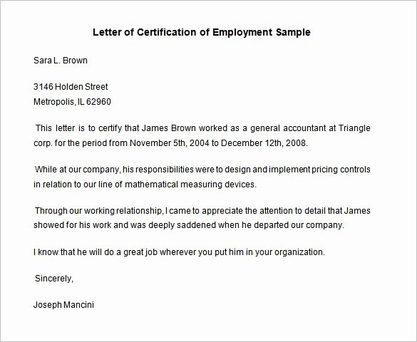 Sample Certificate Of Employment Luxury 40 Employment Certificates Pdf Doc