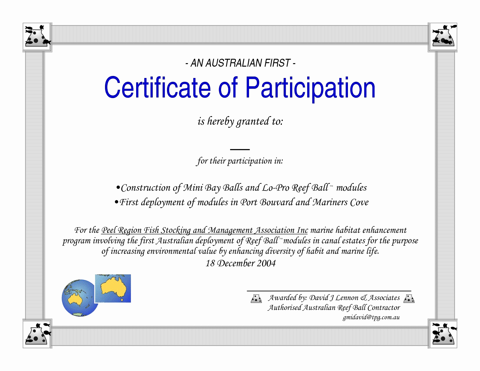 Sample Certificate Of Participation Template Inspirational Participation Certificate Template Word