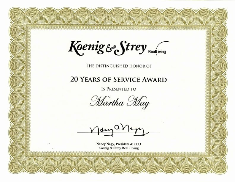 Sample Certificate Of Service Elegant 9 Loyalty Award Certificate Examples Pdf