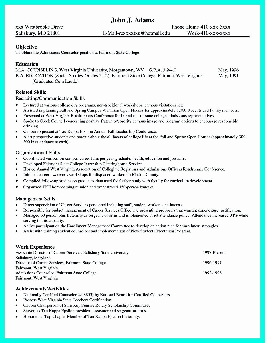 Sample College Applications Unique Pin On Resume Template