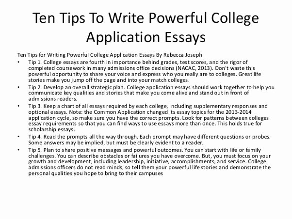 Sample College Applications Unique What are Good Websites for College Application Essay