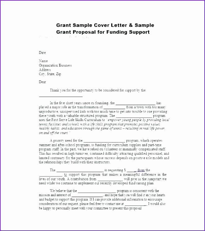 Sample Grant Proposal for after School Program New Business Plan Free Sample for after School Program