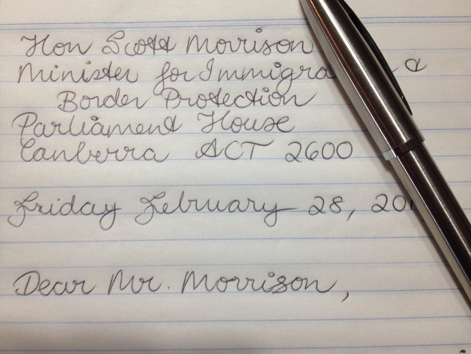 Sample Humanitarian Letter for Immigration Lovely Dear Mr Morrison An Open Letter to the Minister for