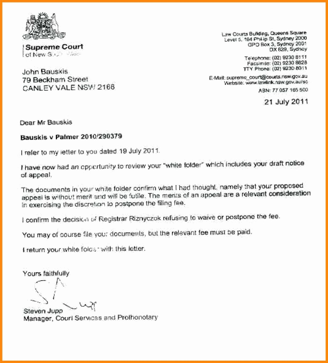 Sample Jury Excuse Letter Beautiful 10 Sample Letter for Jury Duty Excuse