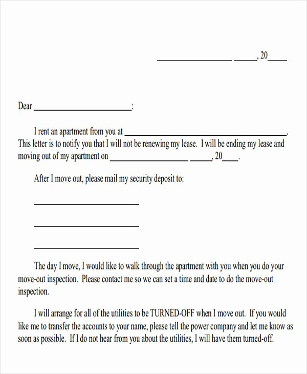 Sample Landlord Letters to Tenants Luxury Apartment Inspection Notice Apartment Decorating Ideas