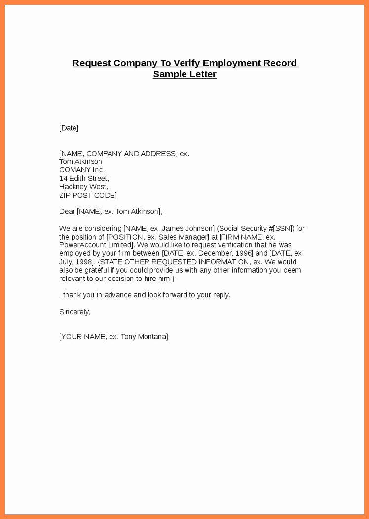 Sample Letter Confirming Unemployment Awesome Confirmation Employment Letter for Bank