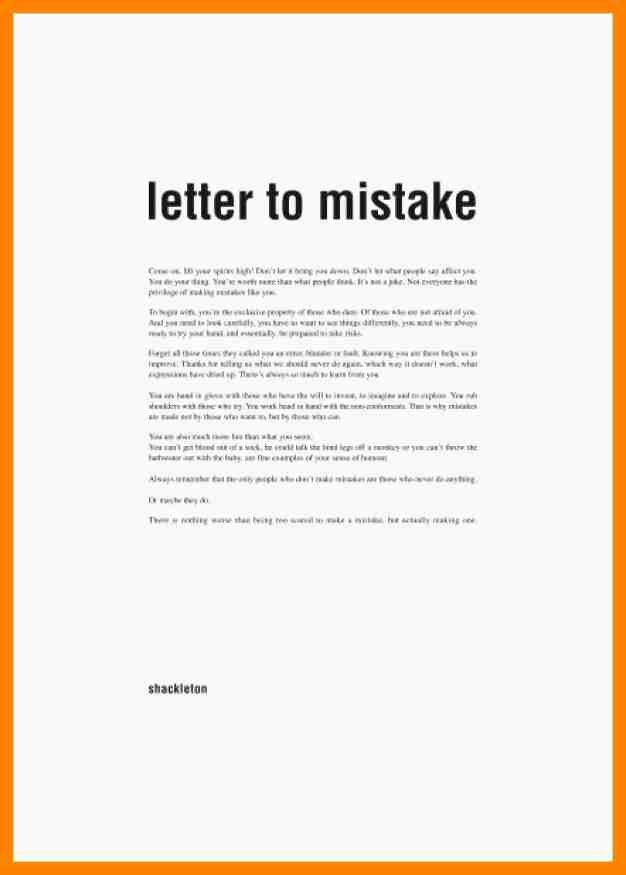 Sample Letter Of Explanation Beautiful 5 6 Explanation Letter Sample