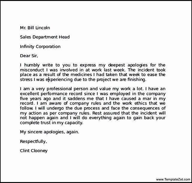 Sample Letter Of Explanation for Mistake Elegant How to Write Explanation Letter for Mistake 7 – New