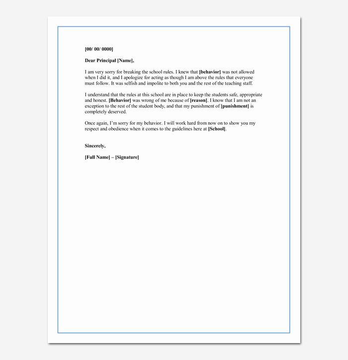 Sample Letter Of Explanation for Mistake Lovely Apology Letter for Mistake 5 Samples Examples & formats