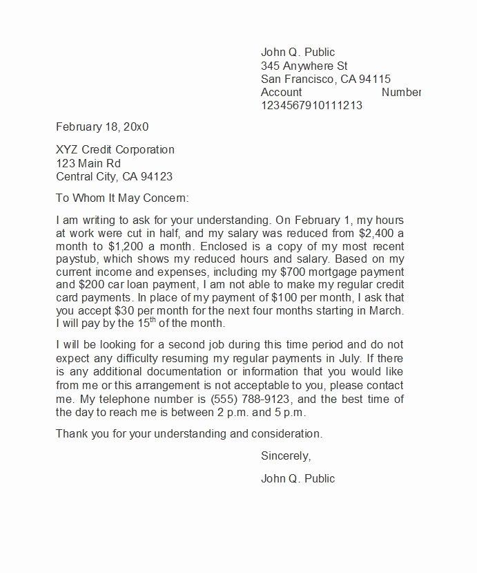 Sample Letter Of Explanation Fresh 48 Letters Explanation Templates Mortgage Derogatory
