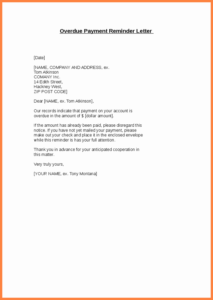 Sample Letter Of Late Payment Explanation Best Of 8 Sample Late Payment Notice