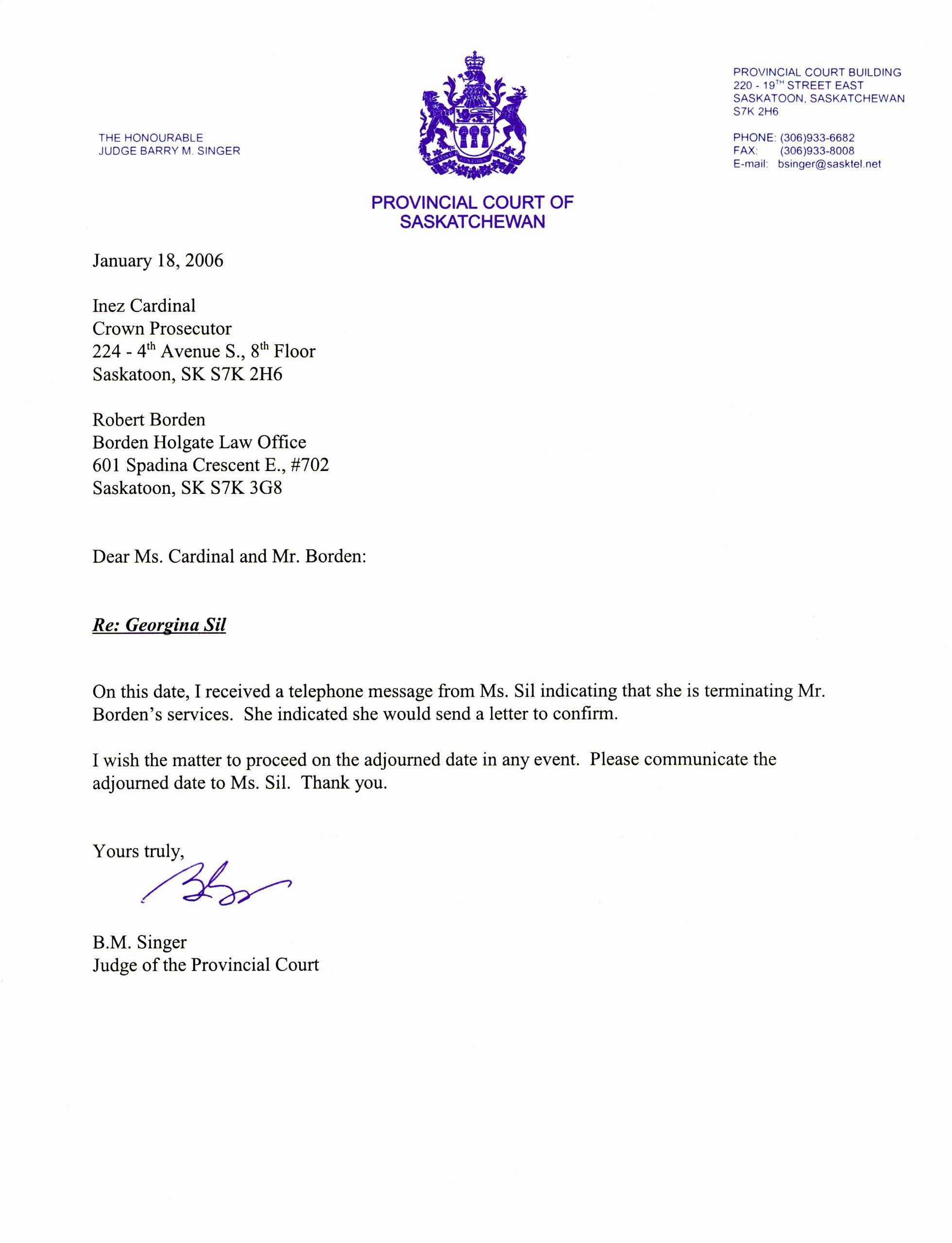 Sample Letter Of Representation Lovely Letter to Terminate attorney Representation