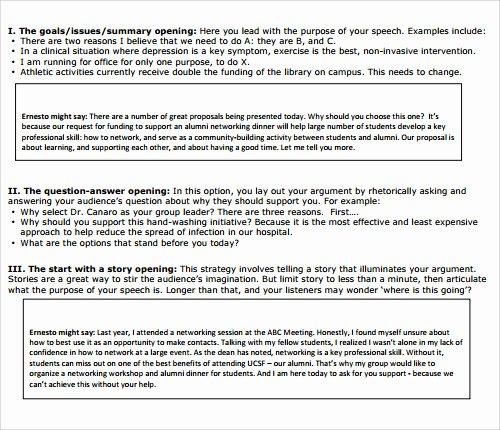 Sample Of A Persuasive Speech Luxury 23 Sample Speech Examples Pdf