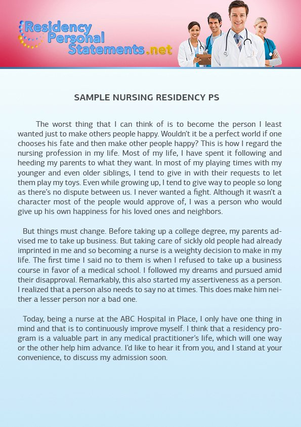 Sample Of Personal Nursing Mission Statement Unique Nursing Personal Statement Sample