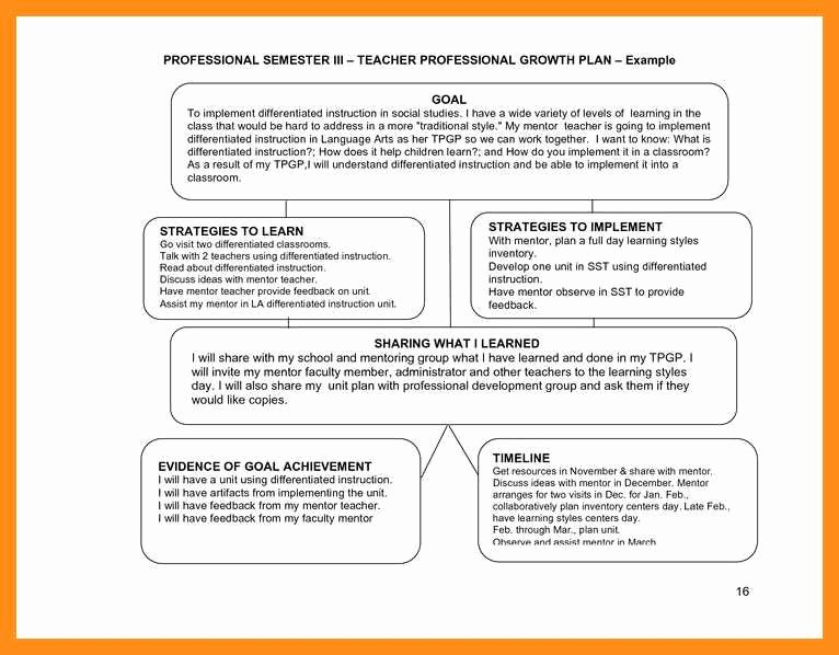 Sample Of Professional Development Plan Unique 9 10 Professional Development Plans Examples