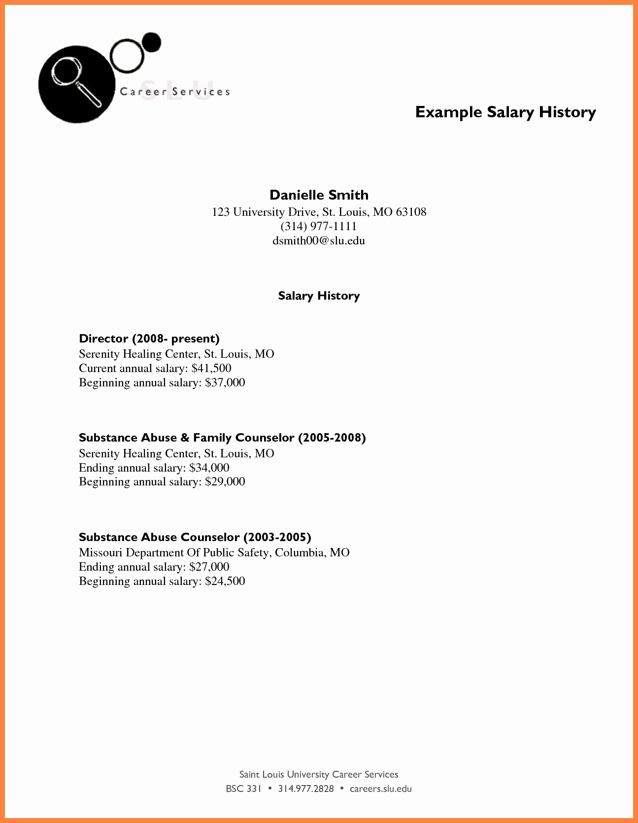 Sample Of Salary Requirements Letter Unique 10 How to Submit Salary History