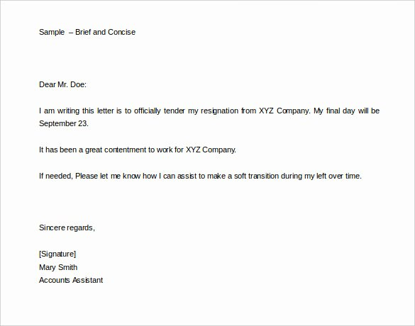 Sample Of Two Weeks Notice Letter Inspirational 34 Two Weeks Notice Letter Templates Pdf Google Docs