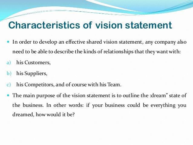 Sample Personal Vision Statement Elegant Vision Statement Examples Alisen Berde