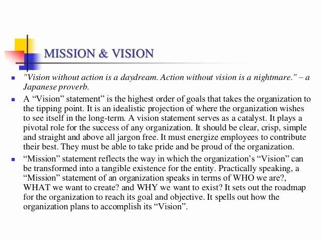 Sample Personal Vision Statement Unique Vision Statement Examples Alisen Berde