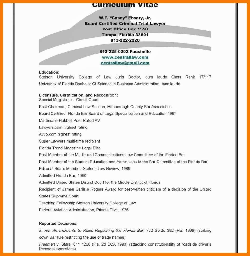 Sample Statement Of Qualification Fresh 7 8 Personal Qualifications Statement Sample