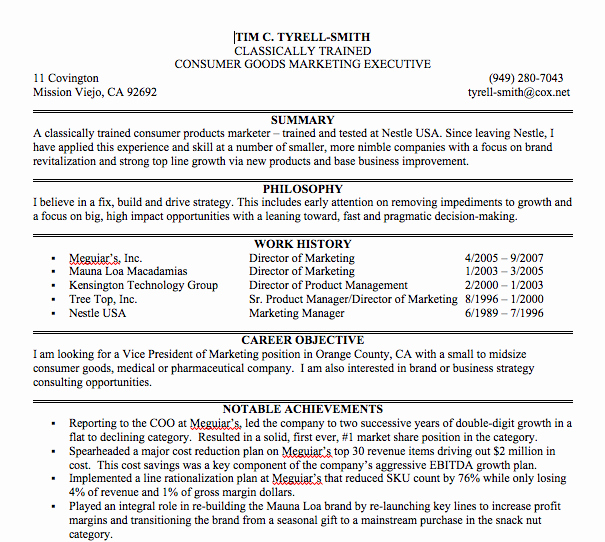Sample Summary Statements New Best S Of Bio Sheet Template for Resume Biography