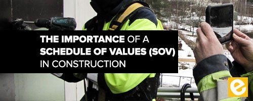 Schedule Of Values Construction Example Best Of the Importance Of A Schedule Of Values sov In