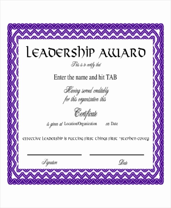 Scholarship Award Certificate Wording Awesome Free 47 Award Certificate Examples and Samples In Word