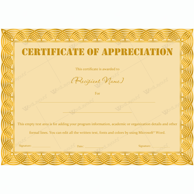 Scholarship Award Certificate Wording Lovely Certificate Appreciation Wording Examples