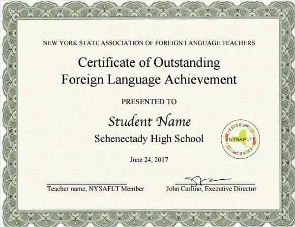 Scholarship Award Certificate Wording Luxury 8 Student Award Certificate Examples Psd Ai Doc
