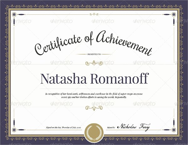 Scholarship Awards Certificates Templates Elegant Free 7 Sample Blank Certificate Templates In Pdf Word